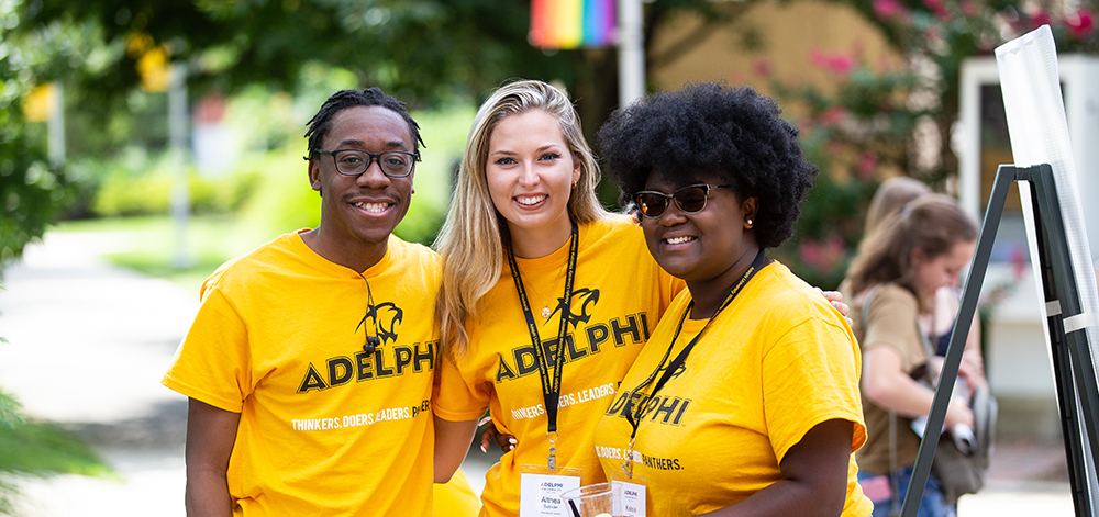 #AdelphiAccepted